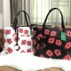 KATE SPADE New York Poppies Riley and Rose Tote Bag free ถุงผ้า