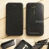 """เคส Zenfone GO TV 5.5"""" (ZB551KL) เคสหนัง + แผ่นเหล็กป้องกันตัวเครื่อง (บางพิเศษ) สีดำ"""