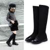 รองเท้าบู๊ทยาวเด็กหญิงสีดำ ซิปข้าง Size 28-36