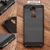 เคส Zenfone 5Q (ZC600KL) เคสนิ่มเกรดพรีเมี่ยม (ลายโลหะขัด - ขอบดำเงา) กันลื่น ลดรอยนิ้วมือ สีดำ