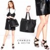 CHARLES & KEITH TASSEL DRAWSTRING BAG มี 2 สี