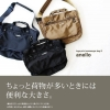 Anello urban street nylon shoulder bag