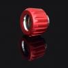 ฟิตติ้งท่ออะคริลิค 14MM สีแดง