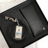 Set PLAYBOY Leather Belt and Long Wallet