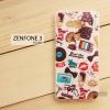เคส Zenfone 3 5.5 นิ้ว (ZE552KL) เคสนิ่ม TPU พิมพ์ลาย แบบที่ 7