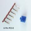 6p PCI-E สีน้ำเงิน +ไส้pin