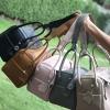 กระเป๋าหนังแท้ ทรงฮิต Lindy 26 Silver material Coated Leather หนังลูกวัวแท้100%