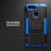 เคส Zenfone Max Plus (M1) เคสบั๊มเปอร์ กันกระแทก Defender สีน้ำเงิน