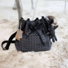 David Jones Bucket Leather (bag) 2018 New Colour Smoke เทาตัดขอบดำ free ถุงผ้า