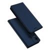 เคส Zenfone 5 (ZE620KL) เคสฝาพับเกรดพรีเมี่ยม (เย็บขอบ) พับเป็นขาตั้งได้ สีกรมท่า (Dux Ducis)