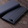 """เคส Zenfone 4 Max 5.5"""" / Zenfone 4 Max Pro (ZC554KL) เคสฝาพับเกรดพรีเมี่ยม (เย็บขอบ) พับเป็นขาตั้งได้ สีกรมท่า"""