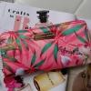 กระเป๋าสตางค์ ยาว สีชมพู Victoria's Secret ลายดอกไม้