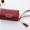กระเป๋าสตางค์ใบกลาง Just For You M Classic สีแดง