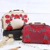 CHARLES & KIETH Rose Embroidery Sling Bag