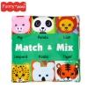 หนังสือผ้า Funny Zoo - Match & Mix