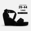 รองเท้าส้นเตารีดไซส์ใหญ่ 39-44 EU Suede Platform รุ่น CH0140