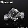 Barrow Flow meter สีเงิน