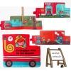 หนังสือผ้า รถดับเพลิง Firefighter by JJOVCE