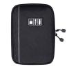 กระเป๋าใส่อุปกรณ์อิเล็กทรอนิกส์ สำหรับใส่อุปกรณ์ไอที มีช่องใส่ SIM, SD CARD ฮาร์ดดิสก์เฉพาะ (Black)