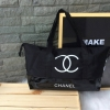 Chanel Beaute Black Sequin Shopping Bag กระเป๋าพรีเมี่ยมกิ้ฟ Limited Edition