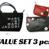 Marc by Mrac Jacob Mini Tote Bag and wallet Magazine gift set