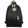 Ecosusi กระเป๋าแฟชั่น กระเป๋าสะพาย แยกสายเป็นสะพายหลังได้ ผลิตจากไนล่อนคุณภาพสูง (สีดำ)