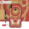 เคส Zenfone 5 (ZE620KL) เคสนิ่ม TPU พิมพ์ลาย (ขอบดำ + พร้อมสายคล้องมือถือ) แบบที่ 6