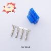 Molex (ตัวผู้) น้ำเงิน UV +ไส้ pin
