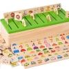 ของเล่นไม้เสริมพัฒนาการ กล่องคำศัพท์ Category Box