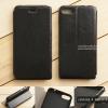 """เคส Zenfone 4 Max 5.2"""" (ZC520KL) เคสหนัง + แผ่นเหล็กป้องกันตัวเครื่อง (บางพิเศษ) สีดำ"""