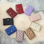 KEEP Honey Wallet 9 สี หนังแกะแท้ Size กลาง สวย นิ่ม หอมหนังมากๆค่า #ใบนี้หนังแกะแท้ค่ะ