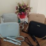 กระเป๋าสะพายข้างแบรนด์ bershka bags (เบิร์ชก้า)
