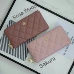 KEEP Genuine Leather Honey Long Wallet 9 สี