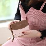 กระเป๋าสตางค์ใบสั้น Prettyzys Collection Mini สีชมพู