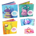 Not So Scary Monsters 3 Pop Up Books Collections : Cheeky & Girlie & Noisy สัตว์ประหลาดไม่น่ากลัว : สัตว์ประหลาด นิทานป๊อปอัพ