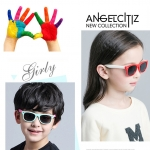 แว่นตากันแดด UV400 ขาบิดงอได้มาก สำหรับเด็กวัย 3-12 ปี