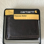 Carhartt Genuine Leather Wallet New With Metal Box