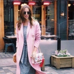 ALDO Bergantino Cross Body Handbag สีชมพู