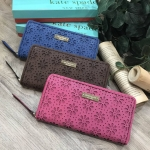 KATE SPADE NEW YORK ZIPS WALLET New With Box *สินค้า Outet