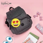 KIPLING Emoji City Backpack Limited Edition *สินค้า outlet