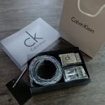 Calvin Klein Belt and Buckle Set เซตเข็มขัด หัวเข็มขัด 2 ชิ้น