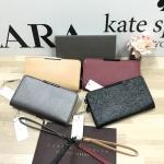 CHARLES & KEITH Basic Zip Wallet free ถุงผ้า มี 4 สีให้เลือกค่ะ