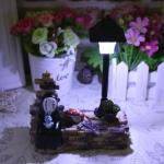 โคมไฟโนเฟส Noface Lamp รุ่นเสาไฟพลาสติก