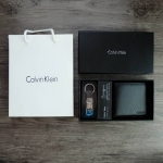Calvin Klein Wallet With Metal Clip Key free ถุงกระดาษ