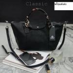 KEEP longchamp Duo Sister Classic - Pure Black สินค้าแท้จากshop