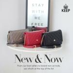 KEEP Betty bag กระเป๋าสะพาย ใบเล็ก เพิ่มความน่ารัก ให้กับ ทุก Look