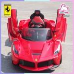 รถแบตเตอรี่เด็ก Ferrari ลิขสิทธิ์แท้ รุ่น LaFerrari 2 มอเตอร์ ประตูปีกนก มีรีโมท หรือบังคับเองได้