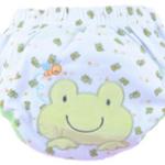 กางเกงฝึกฉี่ (เป้าหนา3ชั้น) size L -Frog