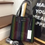 CHARLES & KEITH Striped Mesh Handbag New collection 2018 free ถุงผ้า