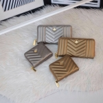 KEEP Richly Short & Long Zipper Wallet Classy Gold